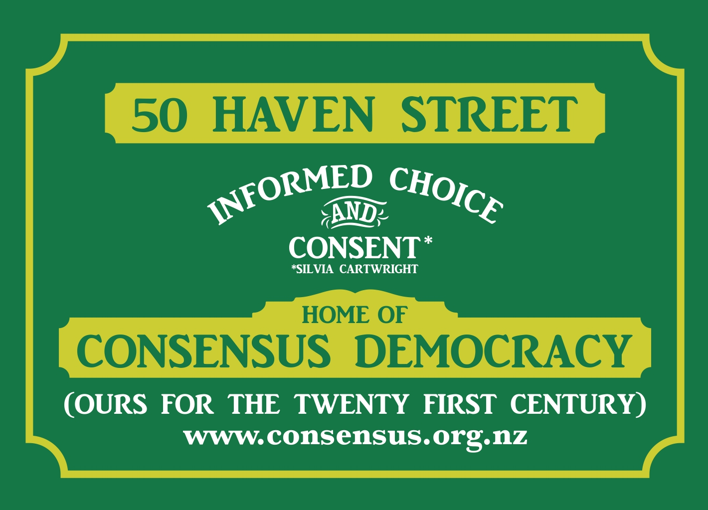 Consensus Democracy